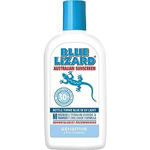 Blue Lizard Australian Sunscreen SPF 30+, Sensitive, 8.75-Ounce Bottle by Blue Lizard