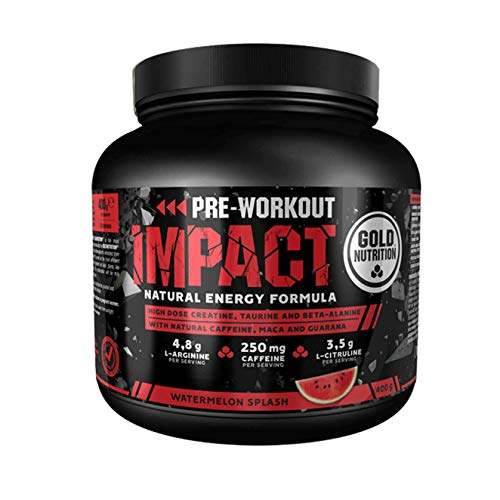 GoldNutrition Pre-Workout Impact Watermelon - 400 gr