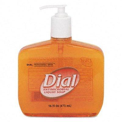 Liquid Gold Antimicrobial Soap, Unscented Liquid, 16 oz Pump Bottle
