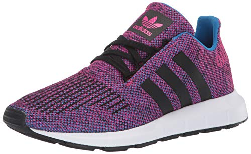 adidas Originals- - Swift Run Unisex-Kinder Jungen, Pink (Real Magenta/Black/Black), 20 EU (Adidas Sneaker Toddler)