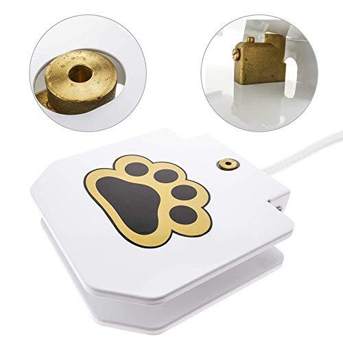 PrimeMatik - Bebedero de Perros Fuente para Mascotas con Manguera de jardín