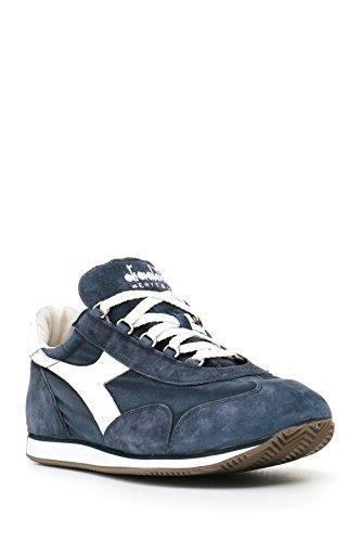 Diadora Equipe Stone Wash 12, Scarpe Low-Top Unisex Adulto Blu