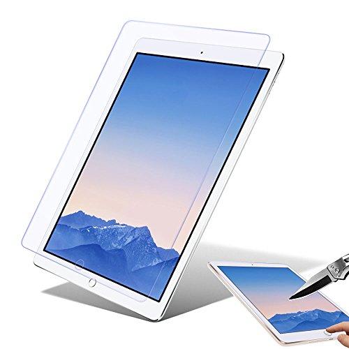 Boriyuan Ipad Air 2 Glas Displayschutzfolie, Panzerglas Folie Screen Protector für Apple Ipad Air 2 9.7 Zoll (Ipad Air 2 Glas-screen Protector)