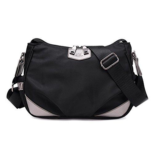 borse di stoffa Oxford/Oblique borsa detenzione/borsa di tela/single borsa a tracolla delle donne/pacchetto semplice-D D