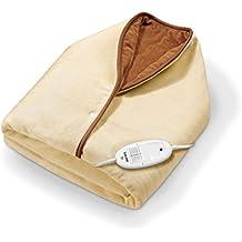 Beurer HD50 - Capa/manta de tacto suave, color crema