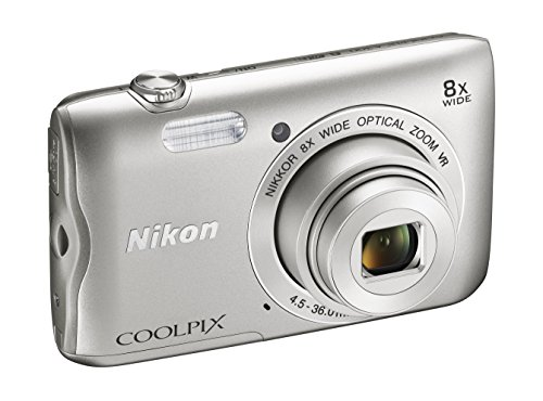 Nikon Coolpix A300 Fotocamera Digitale Compatta, 20.1 MP, Zoom...
