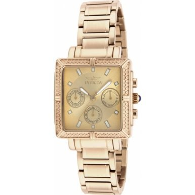 Invicta 14871 Ladies Wildflower Gold Plated Chronograph Watch
