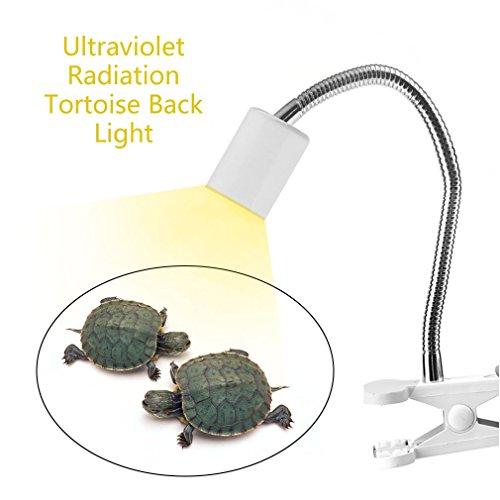 Laurelmartina Emisor de Calor de rotación de 360   Grados Emisor de luz Ultravioleta de la lámpara...