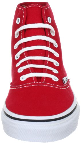 Vans U Authentic Hi, Baskets mode mixte adulte Rouge (Rot true red)