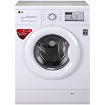 LG 6 kg Inverter Fully-Automatic Front Loading Washing Machine (-FH0FANDNL02.ABWPEPL , White, Inbuilt Heater)