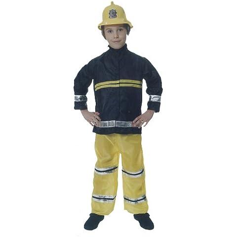 Fireman - Disfraz de bombero infantil, talla 7 - 9 años (U24 031)