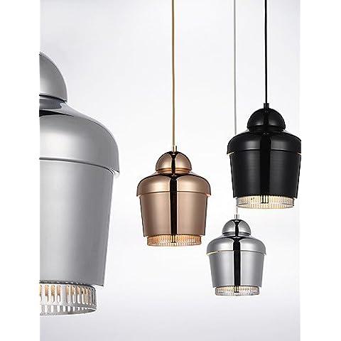 Lámpara colgante ZSQ/1/luz moderna simplicidad/golden/cromo/Blanco/Negro/acero al carbono/Metal/Araña , 220-240 v-dorado