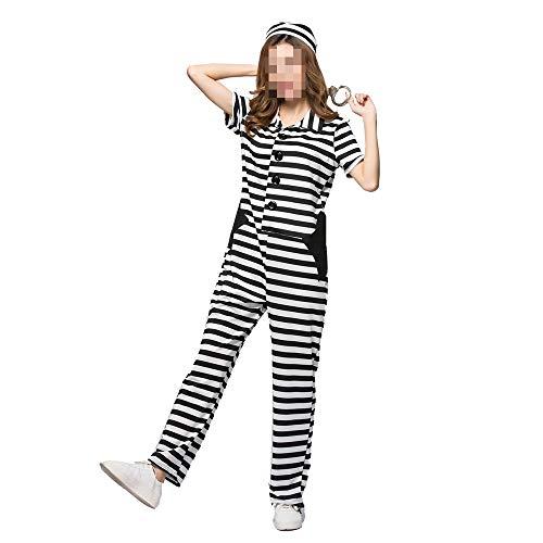 Weibliche Gefangene Kleid Kostüm - YyiHan Halloween Kostüm, Outfit Für Halloween