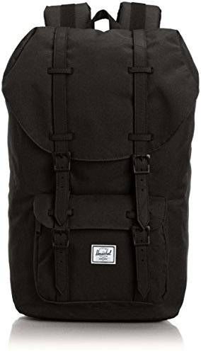 Herschel Little America BackPack Mochila tipo casual, 50 cm, 25 liters, Negro (Schwarz)