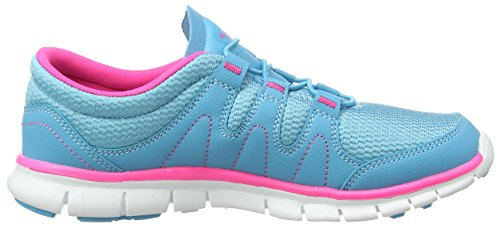 Gola Solar Damen Outdoor Fitnessschuhe Blue (Blue/Pink)