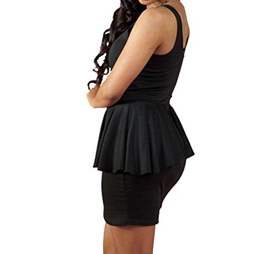 Dissa® femme Noir SY21353-2 robe de cocktail Noir