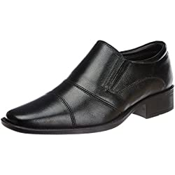 Hush Puppies Men's Hpo2 Flex Black Leather Formal Shoes