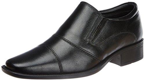 Hush Puppies Men's Hpo2 Flex Black Leather Formal Shoes - 6 UK (8546604)
