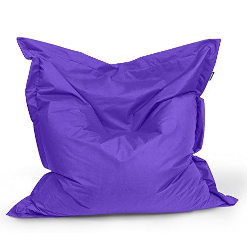 BuBiBag Sitzsack Rechteck Größe 180x145 cm (lila)