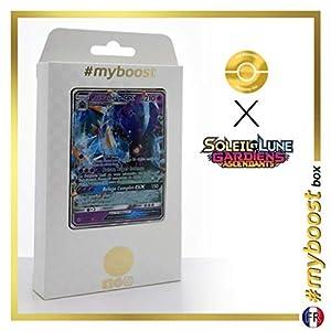 Prédastérie-GX (Toxaped-GX) 57/145 - #myboost X Soleil & Lune 2 Gardiens Ascendants - Box de 10 Cartas Pokémon Francés