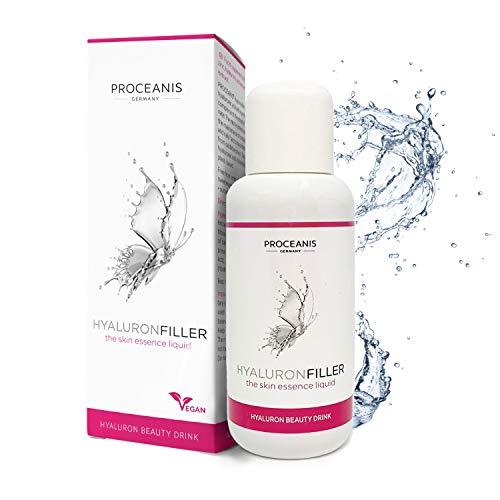 Hyaluron zum Trinken. Prämierter Anti-Aging Beauty Drink für schöne Haut. 10 Tage Anti-Falten Serum. Hyaluronsäure hochdosiert, Vegan