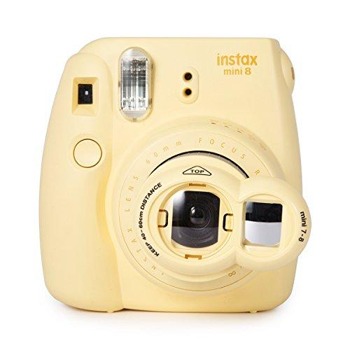 Woodmin Close Up selfie Lense Für Fuji Mini 7s/8 Kamera (giallo)