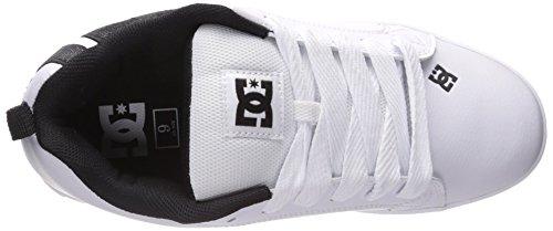 DC Shoes COURT GRAFFIK SE SHOE D0300927 Herren Sneaker Weiß/Grau/Schwarz