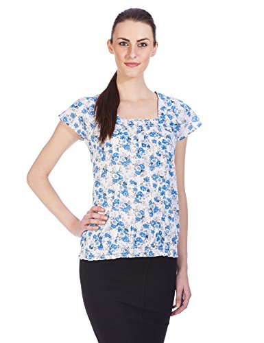 Style Quotient By Noi Women's Body Blouse Shirt (SQ OS JAMIE _Blue_Small)  available at amazon for Rs.799