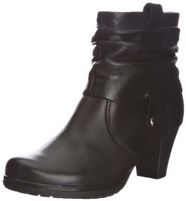 Gabor Brignall L, Bottines femme - Noir - noir, 37.5 EU (4.5 UK)
