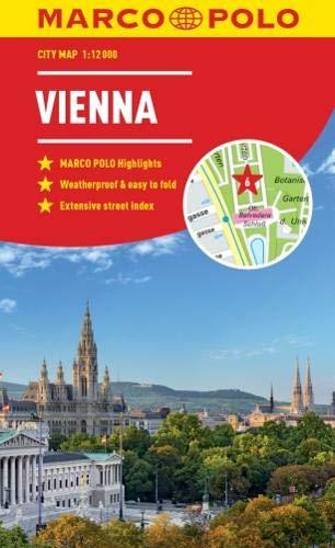 Vienna Marco Polo City Map 2018 (Marco Polo City Maps) por Marco Polo