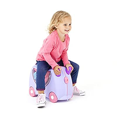 Trunki Ride-On Suitcase - ''Bluebell'' Pony (Purple) - hand-luggage
