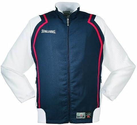 Spalding Teamtrikots & Sets Challenge Jacke, marine/weiß/rot, XXXL,