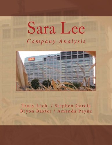 sara-lee-company-analysis