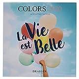 Draeger - Grand Calendrier Mural Happy 2020 - Grille Mensuelle - 7 Langues - Certifié FSC Mixte - Encre Végétale - Calendrier 2020 Mural Happy Grand Format 29x29cm...