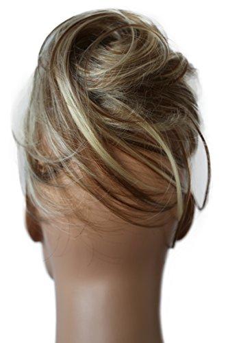 Prettyshop toupee coulisse parrucchino updos nodi mix biondo #12h613 dc23