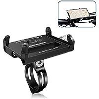 Suntop Bike Fahrradhalterung Universal Bike Fahrrad Halterung, Handyhalterung Fahrrad,Motorrad Halter, Fahrrad-Handy Halterung, 360° drehbar, für iPhone, Samsung, Huawei