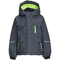 Killtec Jungen Timmy Mini Skijacke/Funktionsjacke mit Kapuze und Schneefang, Grow up Funktion - Kindermode die mitwächst