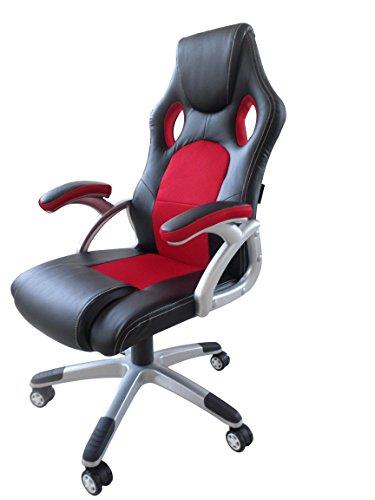 Sedia Da Ufficio Racing.Boudech Sedia Da Ufficio Racing Gaming Poltrona Studio Ruote