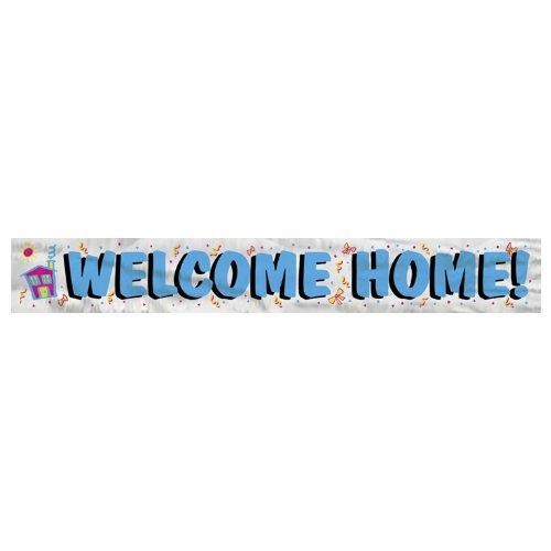 "ome Home""-Banner aus Folie (Welcome-party Dekorationen)"