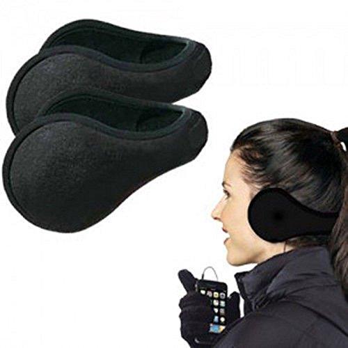 Preisvergleich Produktbild Lecktra® - Warme Ohrenschützer für Frauen und Herren für den Winter / Herbst - Ohrenwärmer Fahrrad Unisex - Kalte Ohren Ade - Ohrbänder schützt vor Wind beim Spazierengehen, Radfahren, Joggen und Reiten - Stirnband (Grau)