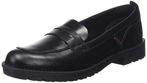 Kickers Women's Lachly 114210 Loafers, Black (Black), 6 UK 39 EU