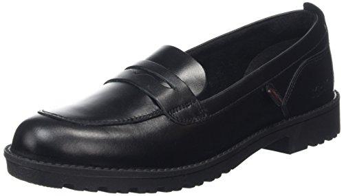 Kickers Ladies Lacly Mocassino 114210 Pantofola Nero (nero)