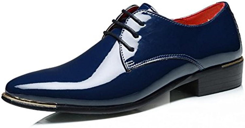 Zapatos de Cuero para Hombres/de Negocios 2018 Four Seasons Zapatos para Hombres Cómodos Zapatos de Oficina/Fiesta...