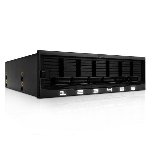 NZXT Sentry Mix 2 Rhéobus à boutons et à rétro-éclairage personnalisable pour 6 ventilateurs