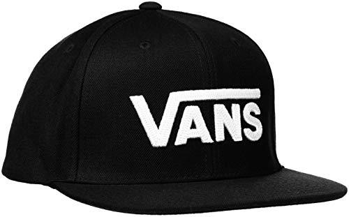 Imagen de vans drop v ii snapback  de béisbol, negro black white y28 , talla única para hombre
