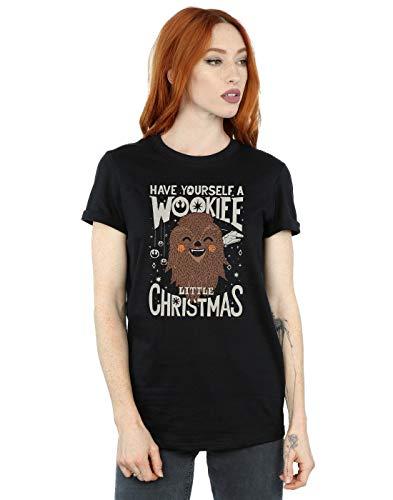 Star Wars Damen Wookiee Little Christmas Boyfriend Fit -