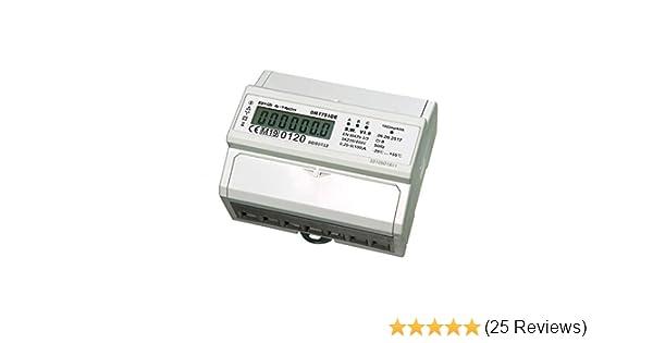 A S0 für Hutschiene digital 45 *PORTOFREI* LCD Wechselstromzähler Stromzähler 5