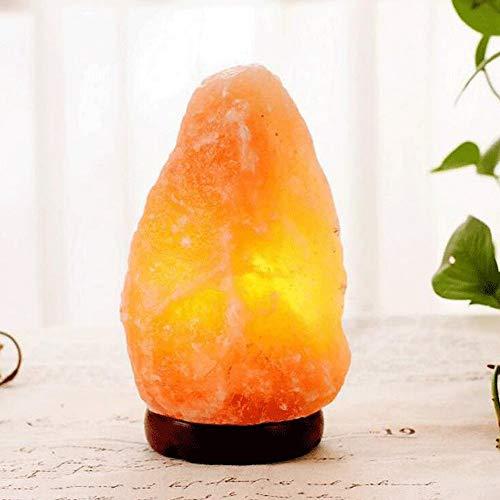 lt Lamps Handgeschnitzte Negative Ionen All-Natürliches Nachtlicht Mit Schalter Helligkeit Dimmer Yoga Luftreinigung Crystal Salt Rock Lampe 1-30kg Optional Log E14 Base Kinderzimm ()
