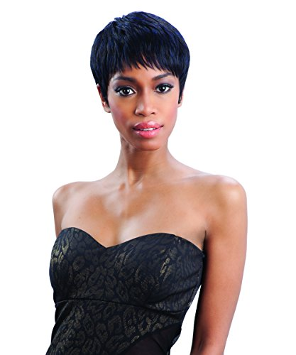 FreeTress Equal Synthetic Hair Wig - HAILEY (1B - Off Black) by Freetress