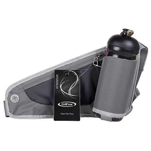 G4Free Correr Cinturón de Hidratación para Corredores Riñonera con